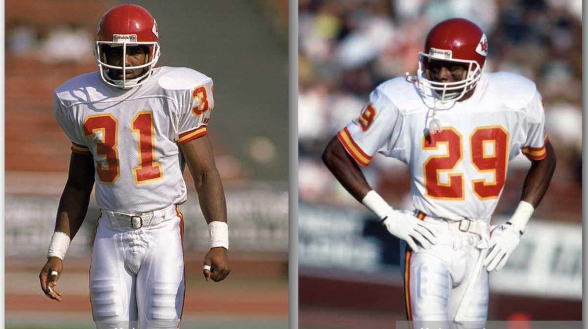 Kevin Ross and Albert Lewis