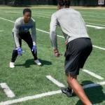 DB Drills   3 Releases Press Man Drill (video)