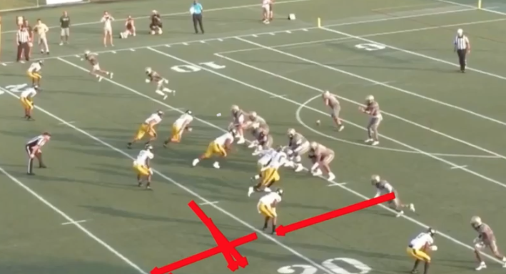 Position mistake
