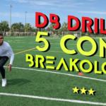 DB Drills   5 Cone Breakology
