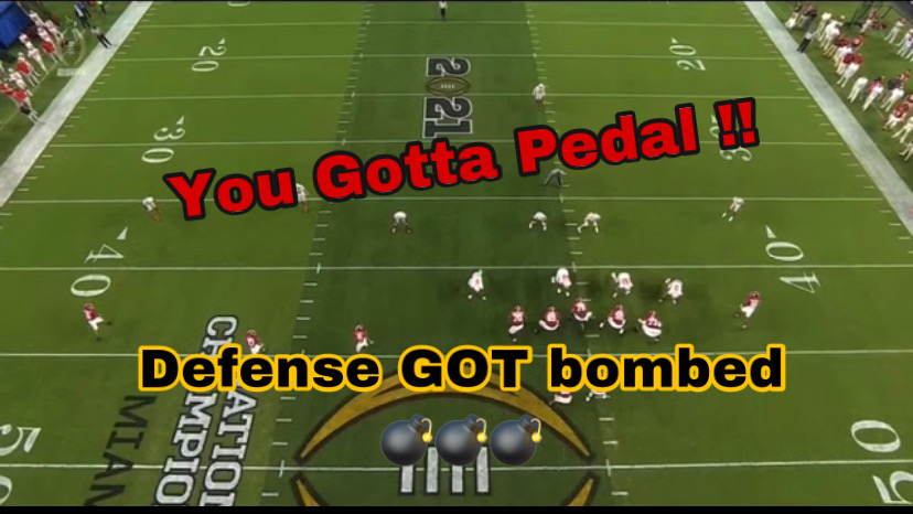 You Gotta Pedal! Bama Play vs. Ohio St. Shows You Why